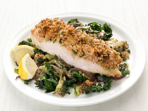Deviled cod with winter greens for Is cod fish kosher