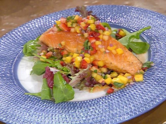 ... cod with strawberry salsa cod with strawberry salsa recipes dishmaps
