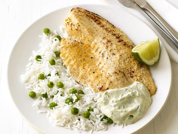 Tilapia masala with rice for Rice recipes for fish