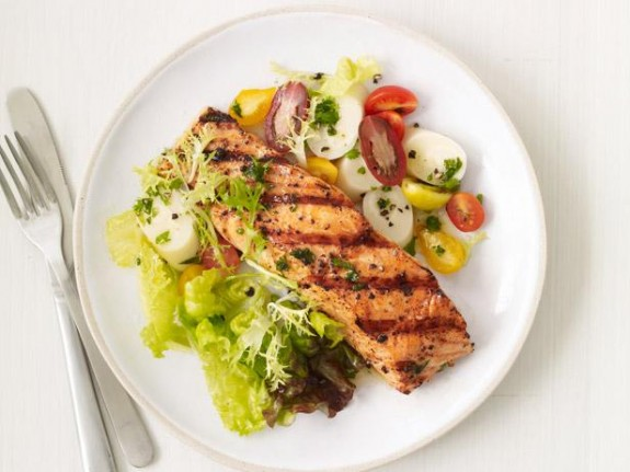 Cuban style grilled salmon for Cuban fish recipes